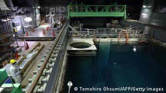 В восстановленном четвертом блоке АЭС Фукусима-1