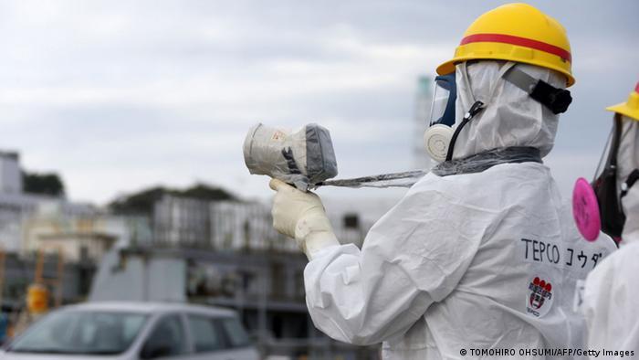 Fukushima Tepco Atomkraftwerk Japan Brennstäbe