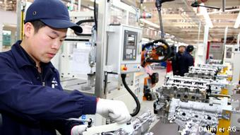 A Daimler plant opened in Beijing in late 2013
