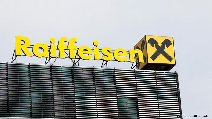 Logo der genossenschaftlichen Raiffeisenbank