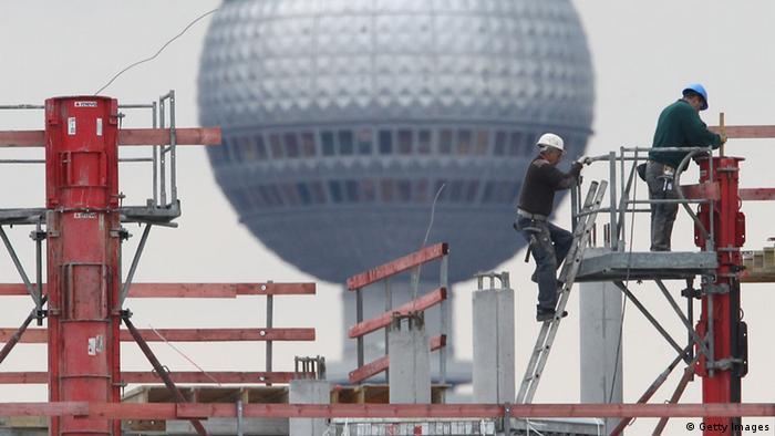 Baustelle vor dem Berliner Fernsehturm (Foto: Sean Gallup/Getty Images)