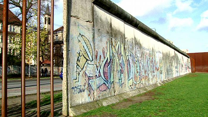 Berlin - remains of the the Berlin Wall