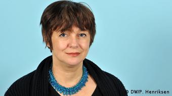 Deutsche Welle Bulgarische Redaktion Tatiana Vaksberg (DW/P. Henriksen)