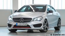 ***Das Pressebild darf nur in Zusammenhang mit einer Berichterstattung über das Auto verwendet werden*** Stufenheck, Frontantrieb und ein ungewöhnliches Design: Mercedes betritt mit dem CLA in vielen Bereichen Neuland Pressebild: Daimler AG