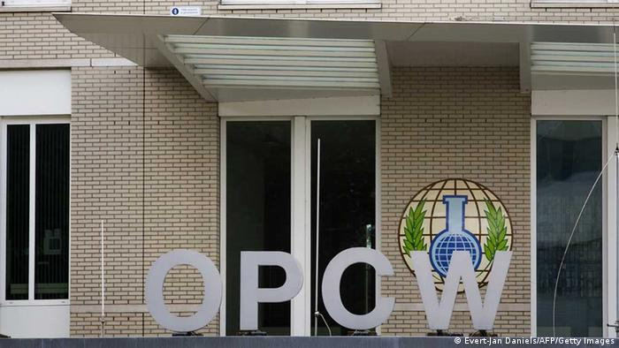 Hauptsitz OPCW Foto: Getty Images)