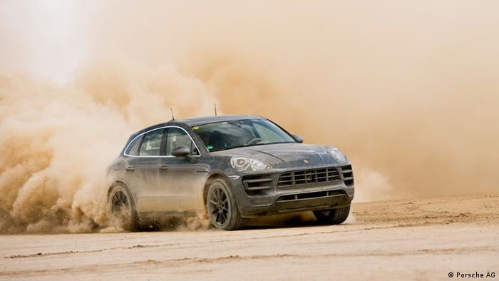 Porsche Macan Testfahrten (Porsche AG)
