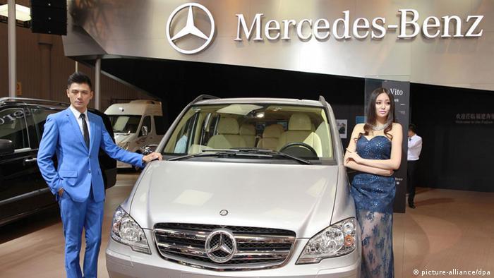Daimler mit chinesischem Partner BAIC (picture-alliance/dpa)