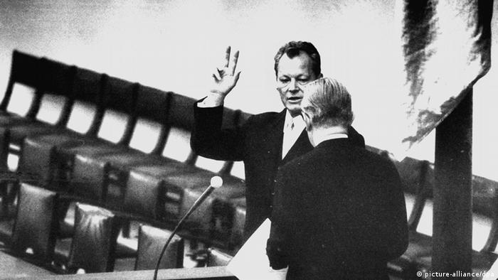 100 Jahre Willy Brandt 1969 Bonn (picture-alliance/dpa)