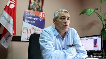 Oliver Ivanovic, mayoral candidate for North Mitrovica.