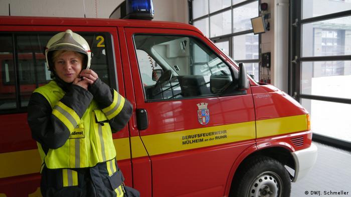Пожежниця в Німеччині