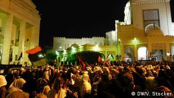Protesters on Algeria Square