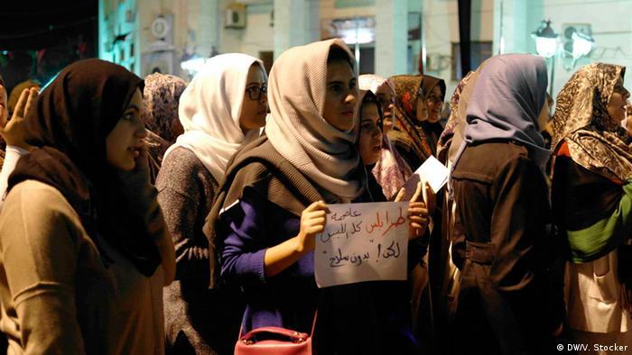 Libyen - Demonstrationen von Frauen auf dem Algerienplatz