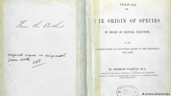 Buch Charles Darwin On The Origin of Species