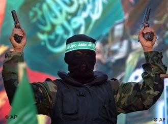 The EU's Javier Solana warned Hamas that Violence is incompatible with democracy