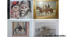 Cornelius Gurlitt Kunst Komobbild Gemälde