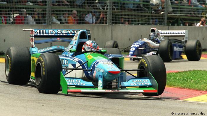 Deutschland Formel Eins Schumachers erstes WM-Auto wird versteigert (picture alliance / dpa)