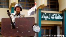 Ägypten Soldat Sinai