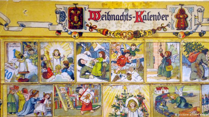 Bildergalerie Adventskalender 1910