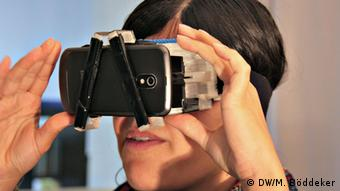 Virtual Reality-Brille