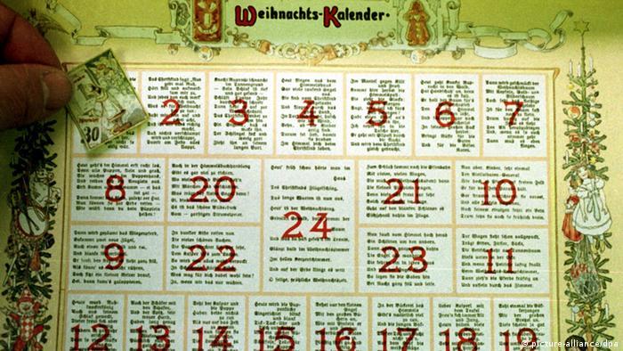 Bildergalerie Adventskalender 1902