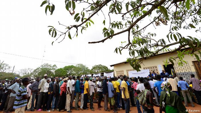 Mosambik Kommunalwahl 20.11.2013 Gorongosa