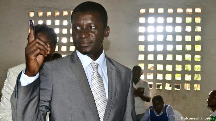 Mosambik Kommunalwahl 20.11.2013 Quelimane Manuel de Araújo