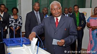 Mosambik Kommunalwahl 20.11.2013 Maputo Präsident Guebuza