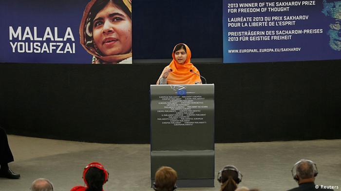 Malala Europaparlament Sacharow Preis 2013