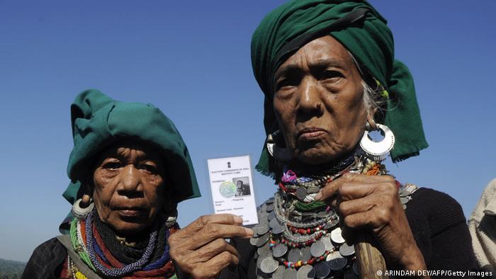 Wahlen in Mazaram/Indien (ARINDAM DEY/AFP/Getty Images)