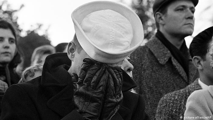 USA Tod von John F. Kennedy Trauer Bevölkerung in Arlington
