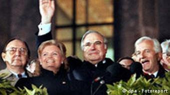 3 октября 1990 года единство Германии было восстановлено