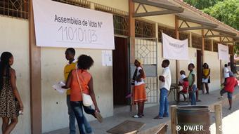 Kommunalwahl Mosambik - Maputo
