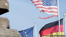 USA Deutschland Lädiertes Bündnis