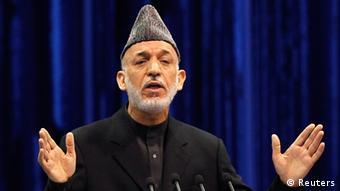 Afghanistans Präsident Hamid Karsai (Foto: Reuters)
