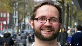 Student Daniel Garske