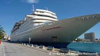 Круизный лайнер MS Louis Olympia