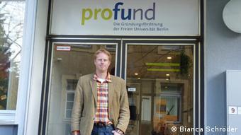 Gründer Steffen Terberl Gründungsservice Freie Universität Berlin