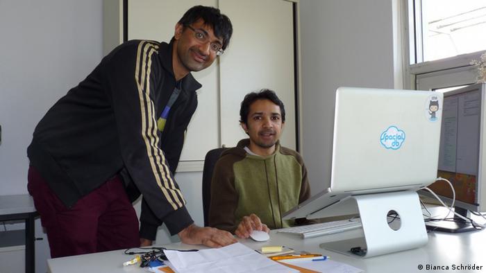 Gründer Spacial Shoaib Burq Kashif Rasul