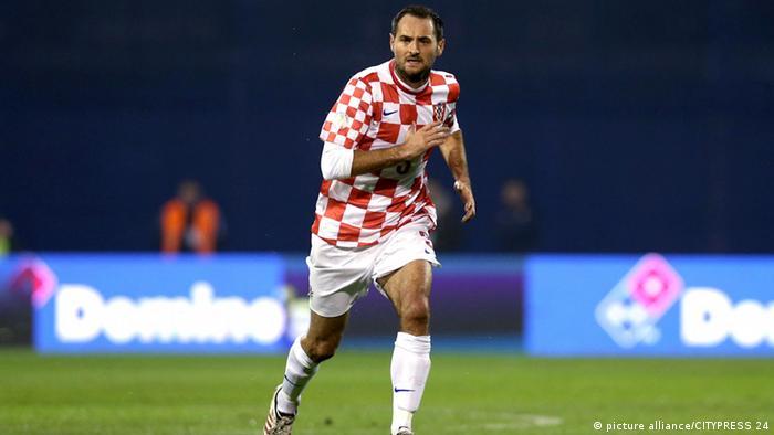 Josip Simunic Fussball Kroatien-Island 19.11.13 (picture alliance/CITYPRESS 24)