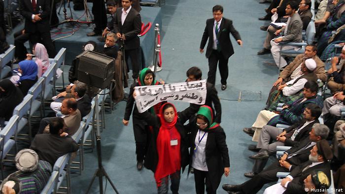 Afghanistan Ratsversammlung Loya Jirga Kabul (Hussain Sirat)