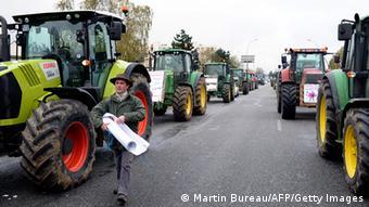 Παλαιότερες διαμαρτυρίες αγροτών στο Παρίσι