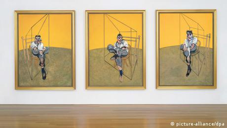 Francis Bacon's Triptychon Freud (REUTERS)