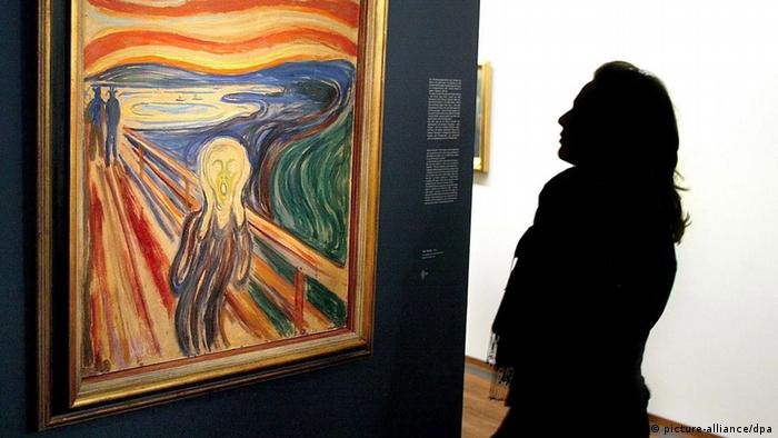 Edvard Munch The Scream (dpa - Bildfunk)