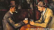 Die Kartenspieler von Paul Cézanne