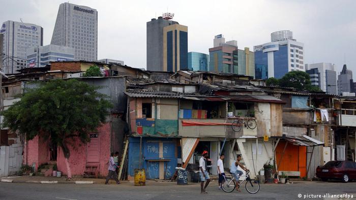Ballungsgebiet Sao Paulo in Brasilien