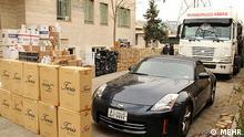Schmuggelware Bildbeschreibung: Vom Auto bis Zigaretten. Schmuggelgeschäft im Iran Stichwörter: Quelle: MEHR Lizenz: Frei