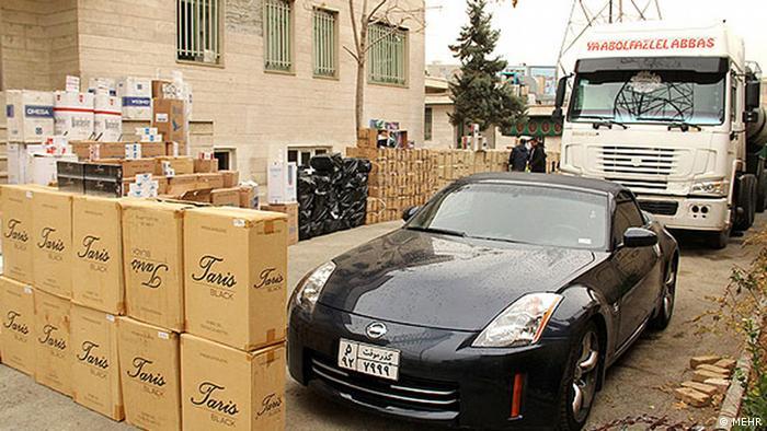 Iran Schmuggelware