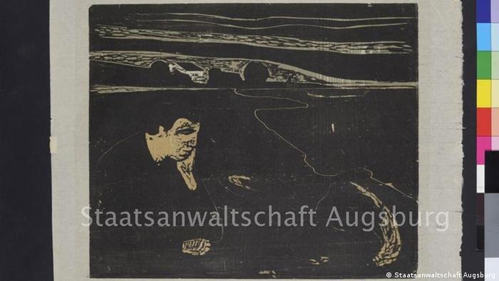 Abend, Melancholie I,' Edvard Munch