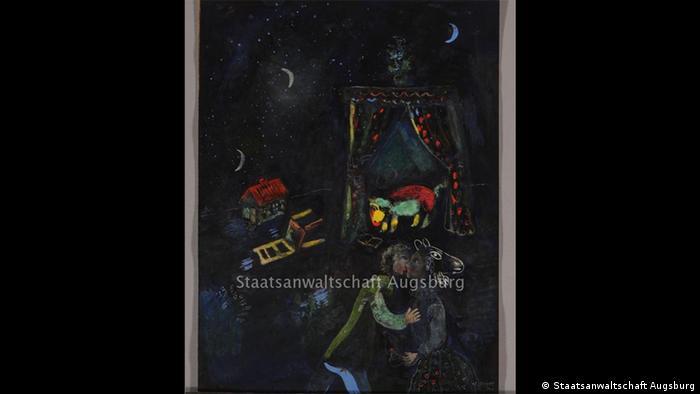 'Allegorical Scene,' Marc Chagall