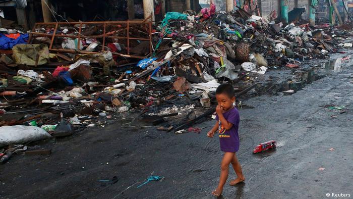 Philippinen nach Taifun Haiyan